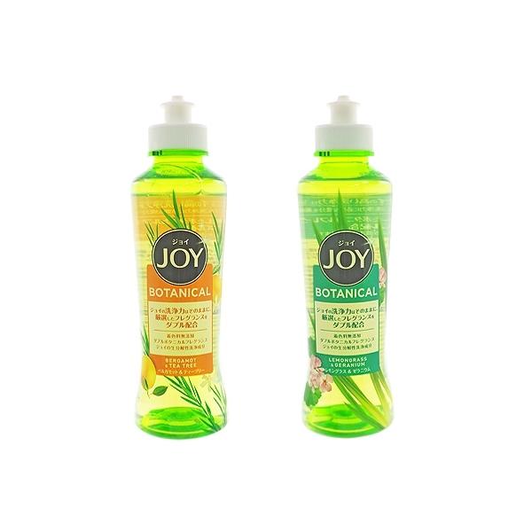 日本P&G JOY速淨除油濃縮洗碗精(190ml) 佛手柑&茶樹/檸檬草&天竺葵 2款可選【小三美日】