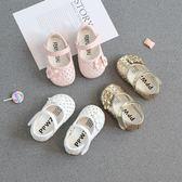 2018春夏女寶寶學步鞋子單鞋0-1-2-3歲嬰兒 涼鞋幼兒軟底公主童鞋