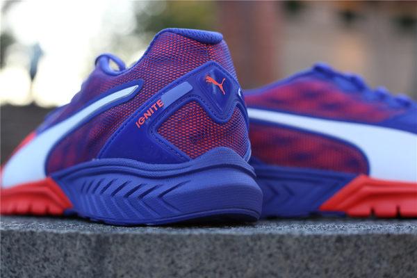 PUMA Ignite Dual Wns 螢光橘 紫網 螢光橘底 後紫底慢跑鞋 2016 7月  (布魯克林) 18914801