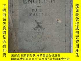 二手書博民逛書店民國舊書,CORRECT罕見ENGLISH (菲律賓語)Y247