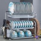 餐具架 三層廚房置物架碗架瀝水架碗筷碗碟...