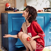 2021新款潮睡衣女士夏季薄款短袖純棉兩件套裝可愛網紅夏天家居服