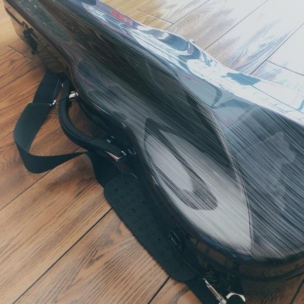 小提琴琴盒 DHY小提琴盒子碳纖維小提琴琴盒輕便航空托運防震防水抗壓T