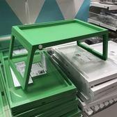 床上用筆記本支架多功能電腦桌可折疊學生宿舍懶人桌平板架igo 盯目家