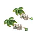 〔APM飾品〕日本Palnart poc 無尾熊與尤加利樹耳環 (抗過敏)