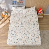 鴻宇 雙人特大床包組 100%精梳純棉 森林裡散步 台灣製2259