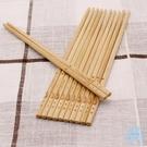 筷子  竹筷子家用20雙竹木快子家庭裝套...