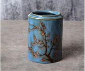 創意個性日韓式陶瓷筷子筒筷籠子筷子筒子窯變釉手繪餐具廚房用品『新佰數位屋』