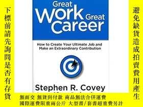二手書博民逛書店Great罕見Work, Great CareerY364682 Stephen R. Covey Frank