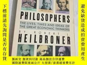 二手書博民逛書店the罕見worldly philosophers heilbroner 【見圖 有破損】Y28297 見圖