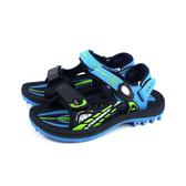 GP(Gold.Pigon) 涼鞋 運動型 黑/藍 童鞋 大童 G0702B-20 no373 19~23cm
