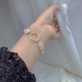 手鏈女百搭淡水珍珠精致小眾氣質手串【聚寶屋】