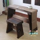 實木古琴桌凳 燒桐木古琴桌凳上漆款仿古實木共鳴箱古琴桌國學書法繪畫古箏桌子T