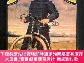 二手書博民逛書店On罕見Your Bicycle: An Illustrated History of Cycling-在你的自行