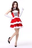 聖誕老人服裝套裝聖誕節衣服女成人男士服飾女兒童老公公cos裝扮-『美人季』