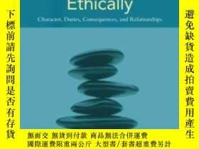 二手書博民逛書店Communicating罕見Ethically: Character Duties Consequences A