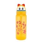 哆啦A夢 哆啦美造型頭掀蓋吸管水壺 500ml 黃_RD00449