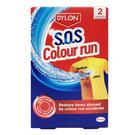 英國 Dylon 衣物急救 誤染去色劑 每盒2包入 (SOS Color Run 誤染去色洗)