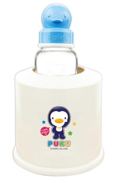PUKU 藍色企鵝 調乳器保溫容器 P10903