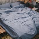 天絲(80支)床組 太妃灰 Q2雙人加大床包+薄被套四件組 100%天絲 專櫃級 台灣製 棉床本舖