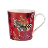 英國Sara Miller 大溪地Tahiti系列340ml馬克杯-斑馬(附原廠禮盒)