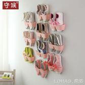 鞋架鞋櫃 浴室衛生間放拖鞋架簡易小牆壁掛式門後壁掛牆上鞋子收納家用 igo