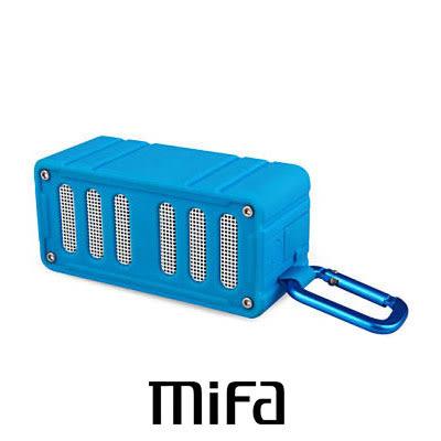 MiFa F6 無線 NFC 隨身藍芽MP3喇叭 翰海藍 快速配對超方便