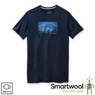 【SmartWool 美國 男 Merino Sport 150 山徑夜光T恤《深海軍藍》】SW016446/排汗衣/ 機能衣