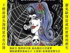 二手書博民逛書店Web s罕見Crazy 8 Tattoo Coloring Book: Cool Tattoo Coloring