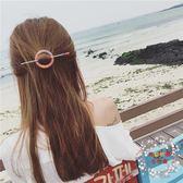 髪插韓國氣質復古甜美手工線纏繞發簪子頭箍盤發器插針發夾卡子發飾女 全館免運