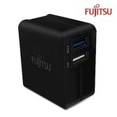 [富廉網]【FUJITSU】富士通 US-07 QC3.0 + 2.4A 充電器