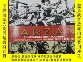 二手書博民逛書店Tarzan罕見: intégrale Russ Manning newspaper strips : Tome