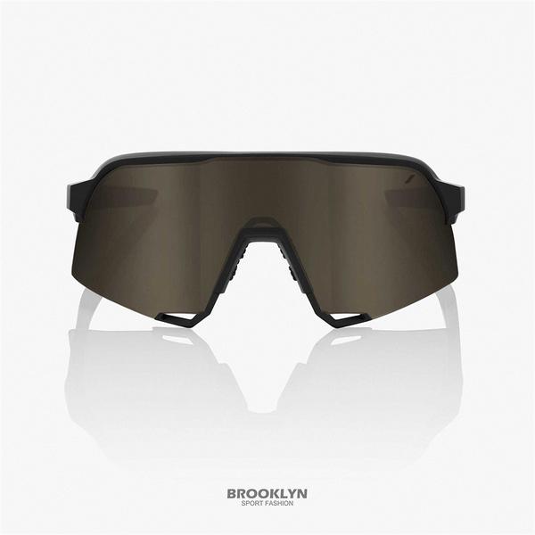 【100%】太陽眼鏡 黑 運動 騎行 21 S3 - SOFT TACT BLACK W 1006103425801