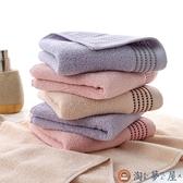 3條裝 純棉毛巾大號蓬松柔軟家庭洗臉毛巾【淘夢屋】