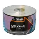 【奇奇文具】錸德 光碟片  RiDATA CD-R 52X 白金片(裸裝) 50片