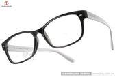 ALAIN DELON 眼鏡 AD20307 BS1 (黑-銀) 經典簡約時尚百搭款 平光鏡框 # 金橘眼鏡
