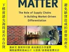 二手書博民逛書店Bricks罕見Matter: The Role of Supply Chains in Building Mar