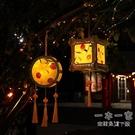 中秋節燈籠 diy材料包兒童手提發光花燈幼兒創意古風漢服手工宮燈