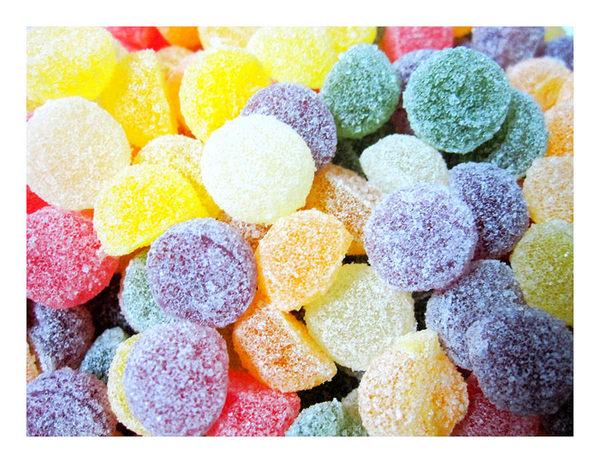 年貨大街 ‧散糖軟糖區‧哈尼果粒QQ軟糖 300g(半斤)【合迷雅好物超級商城】