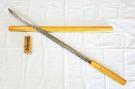 郭常喜與興達刀鋪-檜木浪人武士刀(D0032)