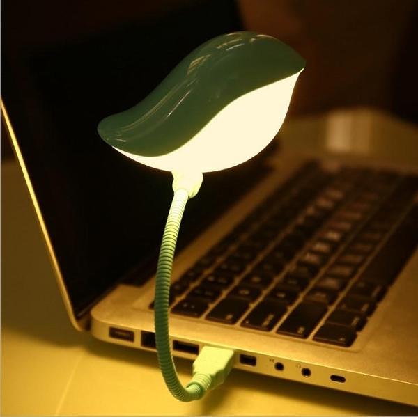 SK128 歡樂鳥兒小夜燈LED(粉/籃) 創意嘰喳小鳥USB夜燈鳥語花香USB小夜燈餵奶燈床頭燈禮品生日禮物