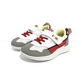 《7+1童鞋》中童 日本IFME 機能輕量 運動鞋 D494 紅色