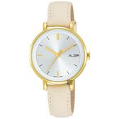 ALBA雅柏 Fashion lady 簡單女孩流行手錶-32mm VJ21-X125W(AH8488X1)