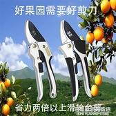 修枝果樹植物花枝剪盆景家用園藝園林工具滑輪省力強力台灣剪刀子 NMS名購居家
