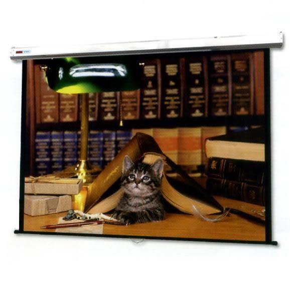 SUPER SEIMON 4:3 45 × 60小型手拉式投影機布幕