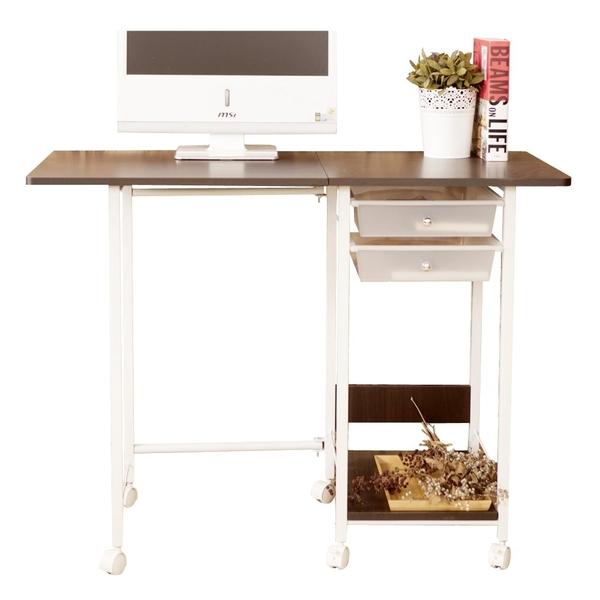 輕日系摺疊收納桌【JL精品工坊】 電腦桌 書桌 辦公桌 媽媽桌 桌子 工作桌