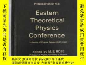 二手書博民逛書店eastern罕見theoretical physics con