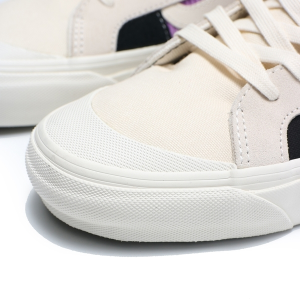 VANS OG STYLE 138 LX 米白黑紫 高筒 滑板鞋 男 (布魯克林) VN0A45KDTPH