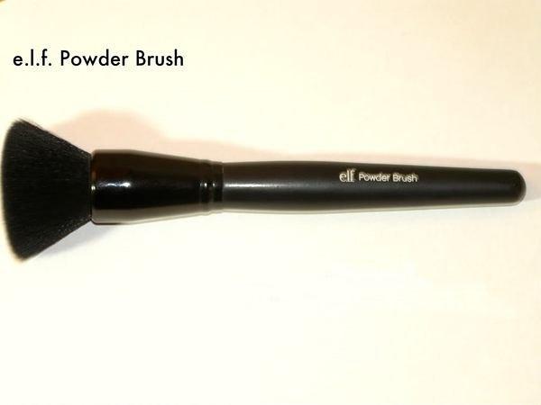 【愛來客 】Youtube達人推薦美國彩妝品牌ELF power brush 蜜粉刷直角粉餅刷化妝刷(新型抗菌)