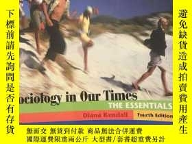 二手書博民逛書店Sociology罕見in Our Times: The Ess